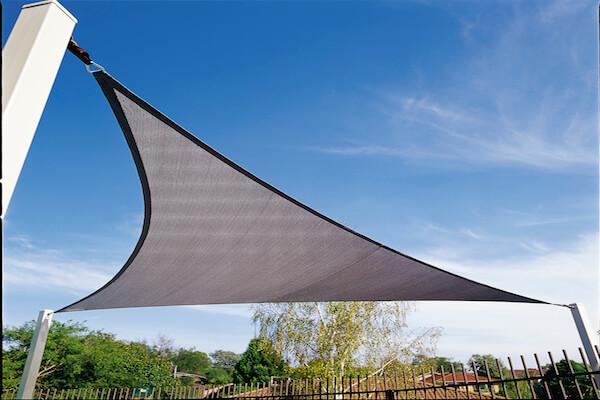 CPREMTR500_CHARCOAL,Sonnensegel dreieck - Sonnenschutz