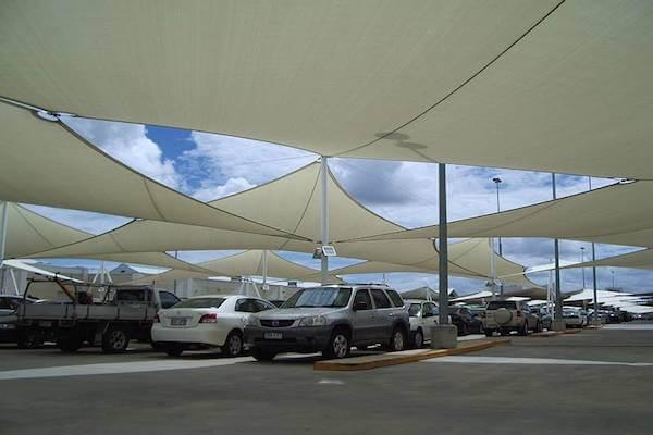 CPREMTR500_WHITE,Sonnensegel rechteckig - UV-Schutz