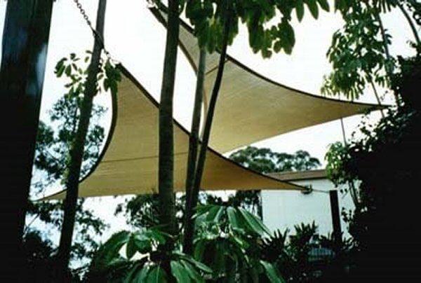 TRING360_GRIS,UV-Schutz - Sonnensegel rechteckig