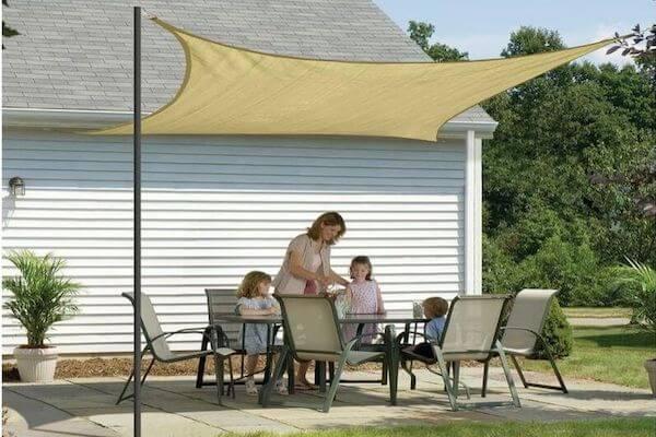 CEVERSQ300,UV-Schutz - Sonnenschutzsegel